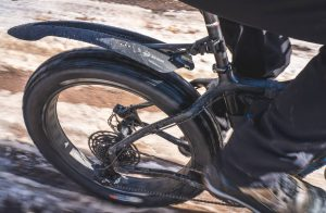 Photo of Planet Bike Big Buck rear fender in action.